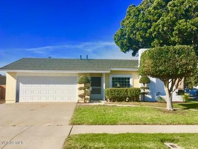 Oxnard Single Family Home Active Under Contract: 1431 Joliet Place