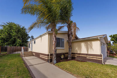 Oxnard Mobile Home Active Under Contract: 2451 Blueberry Drive #121