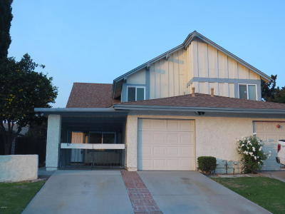Camarillo Single Family Home For Sale: 167 Spanish Moss Place