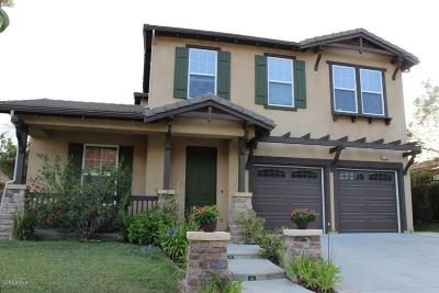 Newbury Park Single Family Home For Sale: 129 Via Magnolia