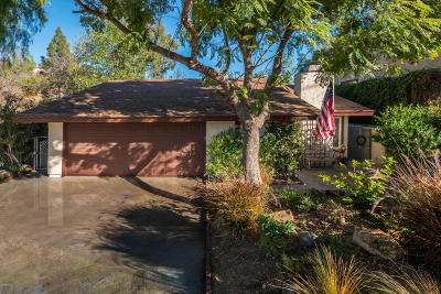 Newbury Park Single Family Home For Sale: 172 Maple Road