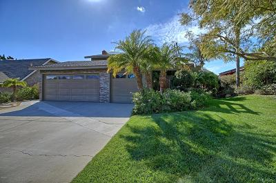 Camarillo Single Family Home Active Under Contract: 2377 Brookhill Drive