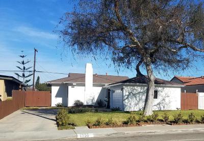 Oxnard Single Family Home Active Under Contract: 1009 Doris Avenue