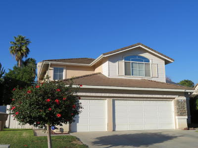 Camarillo Single Family Home Active Under Contract: 961 Calabria Court