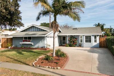 Ventura Single Family Home Active Under Contract: 280 Huntington Avenue