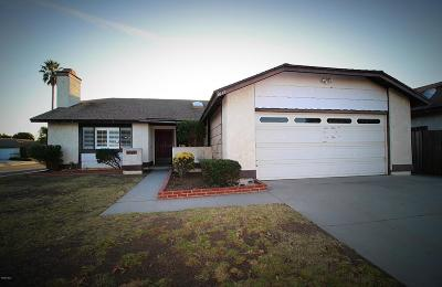 Oxnard Single Family Home For Sale: 2400 Oarfish Lane