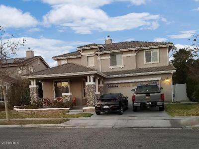 Fillmore Single Family Home For Sale: 869 Burlington Street