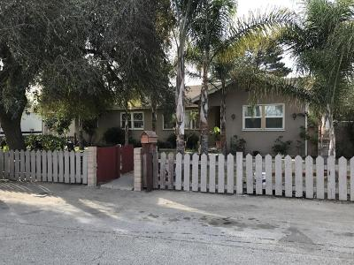 Oxnard Multi Family Home Active Under Contract: 2750 Eucalyptus Drive