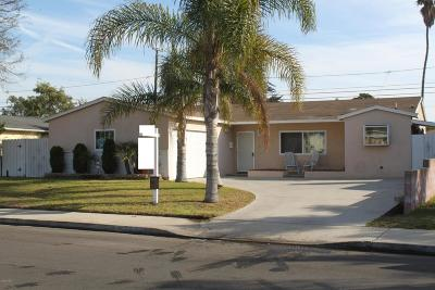 Port Hueneme Single Family Home Active Under Contract: 1122 7th Place