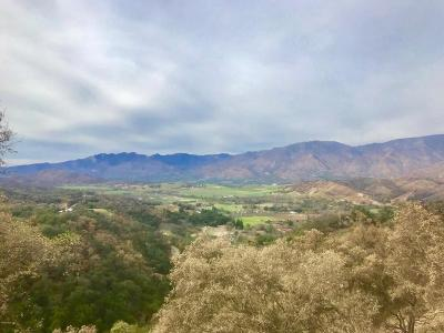 Ventura County Residential Lots & Land For Sale: 11600 Sulphur Mountain Road