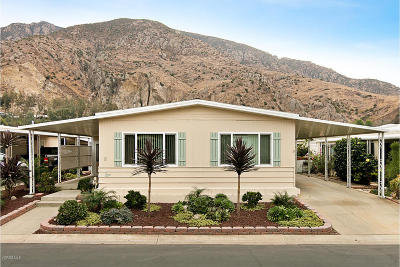 Camarillo Mobile Home Active Under Contract: 8 Isabel Avenue #81