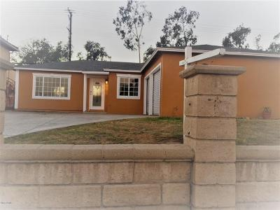 Port Hueneme Single Family Home For Sale: 1553 5th Street