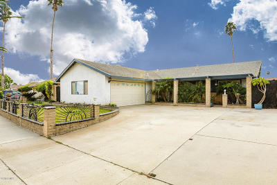 Oxnard Single Family Home For Sale: 4421 Phoenix Drive
