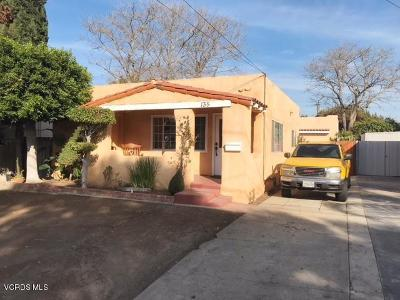 Ventura Single Family Home Active Under Contract: 135 W Center Street