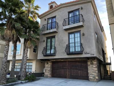 Oxnard Single Family Home Active Under Contract: 751 Mandalay Beach Road