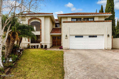 Ventura Single Family Home Active Under Contract: 393 Sonoma Court