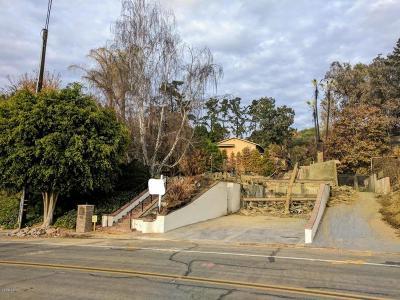 Ventura County Residential Lots & Land Active Under Contract: 217 Via Pasito