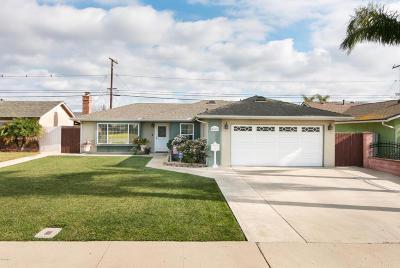 Oxnard Single Family Home For Sale: 4510 S G Street