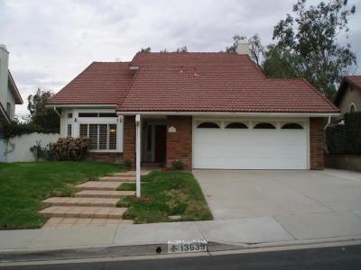 Moorpark Rental For Rent: 13639 Bear Valley Road