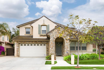 Camarillo Single Family Home Active Under Contract: 250 Bellafonte Court