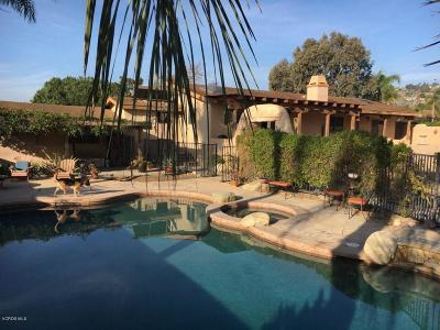 Camarillo Single Family Home Active Under Contract: 184 Catalina Drive