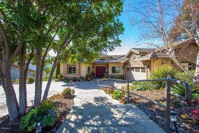 Santa Paula Single Family Home For Sale: 540 Glade Drive