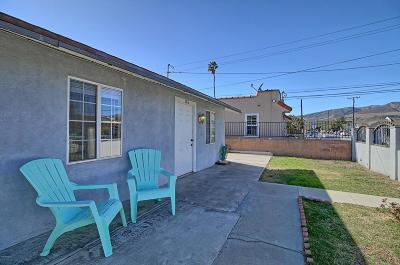 Ventura Single Family Home For Sale: 182 W Harrison Avenue