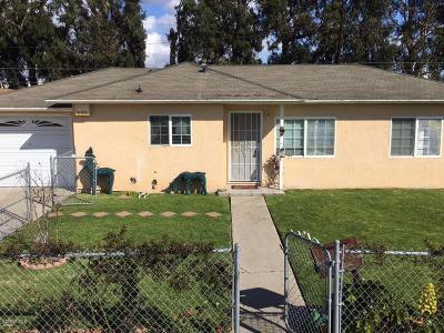 Oxnard Single Family Home For Sale: 2112 Arcadia Street
