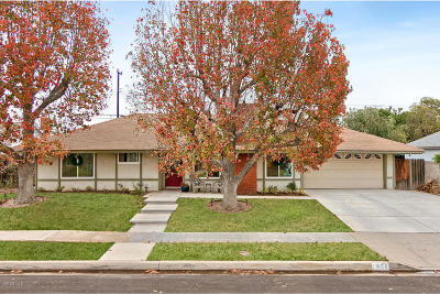 Camarillo Single Family Home Active Under Contract: 1058 Jay Avenue