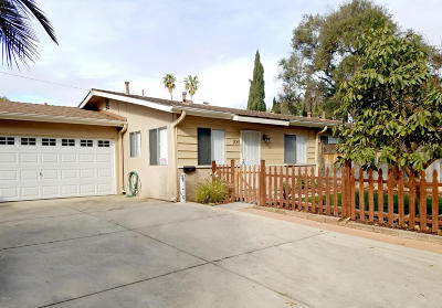 Ventura Single Family Home Active Under Contract: 2061 Cameron Street