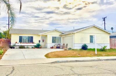 Oxnard Single Family Home For Sale: 1310 W Olive Street