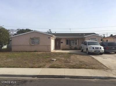 Port Hueneme Single Family Home For Sale: 1056 5th Place