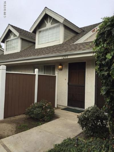 Ventura Single Family Home Active Under Contract: 1233 Osage Lane