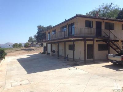 Fillmore Single Family Home For Sale: 2555 Grand Avenue