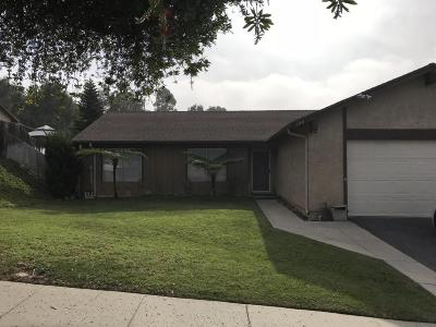 Ventura Single Family Home For Sale: 544 Seneca Street