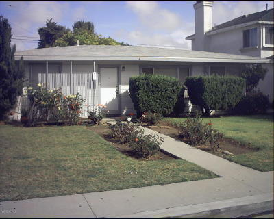 Oxnard Single Family Home For Sale: 421 E Elm Street