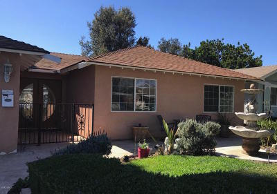 Ventura Single Family Home For Sale: 957 Albany Avenue