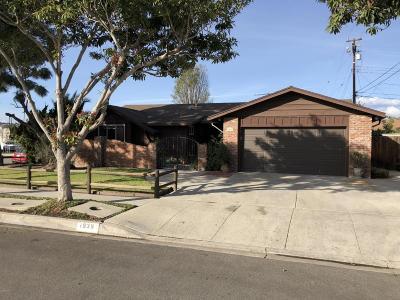 Camarillo Single Family Home For Sale: 1839 Granger Street