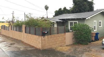 ventura Single Family Home For Sale: 4011 Ventura Avenue