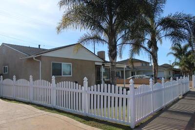 Oxnard Single Family Home For Sale: 632 Teakwood Street