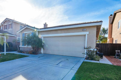 Oxnard Single Family Home For Sale: 801 Fresca Drive