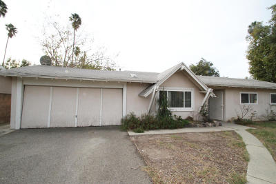 Simi Valley Single Family Home For Sale: 3502 Evans Drive