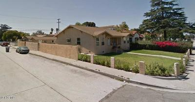 Oxnard Multi Family Home For Sale: 804 W 5th Street
