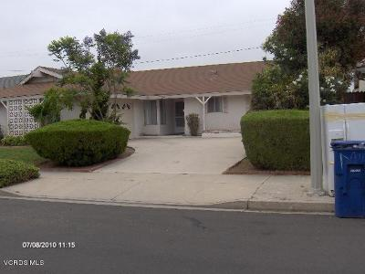 Camarillo Single Family Home For Sale: 1493 Loma Drive
