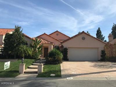 Westlake Village Single Family Home For Sale: 754 Cedar Point Place