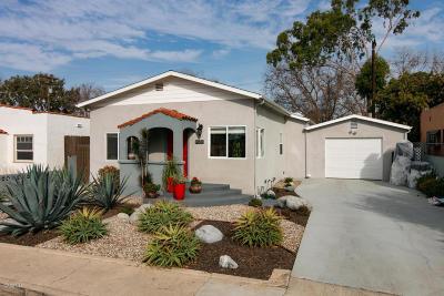 Ventura CA Single Family Home For Sale: $560,000
