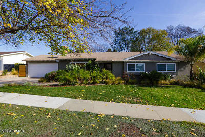 Newbury Park Single Family Home For Sale: 624 Bella Drive