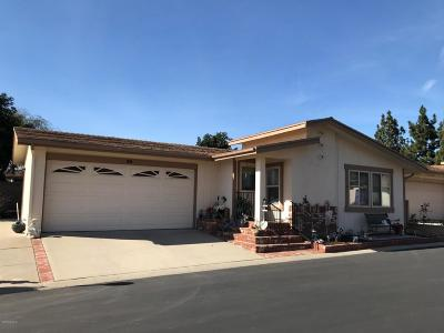 Ventura Single Family Home For Sale: 1220 Johnson Drive #40