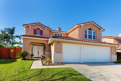 Camarillo Single Family Home Active Under Contract: 1469 Paseo Maravilla