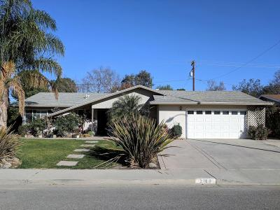 Camarillo Single Family Home For Sale: 2160 Marco Drive